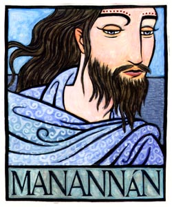 Manannán, Irish God of the Sea--manannan manawyddan manawydan ...