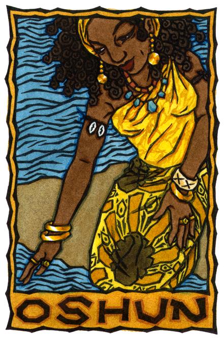 Oshun Goddess Symbol