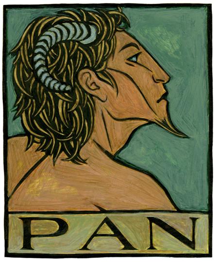 is pan a god