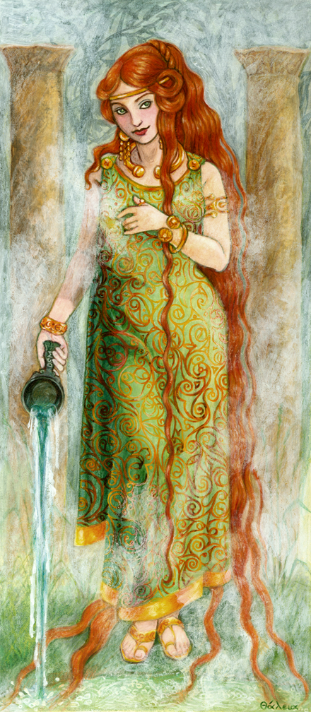 Sulis, Celtic Goddess of the Hot Springs at Bath